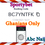 Today's Bet Promo Ticket For Today 17/08/2021